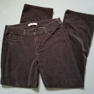 Levi's cords corduroy pants 526 slender boot 14M